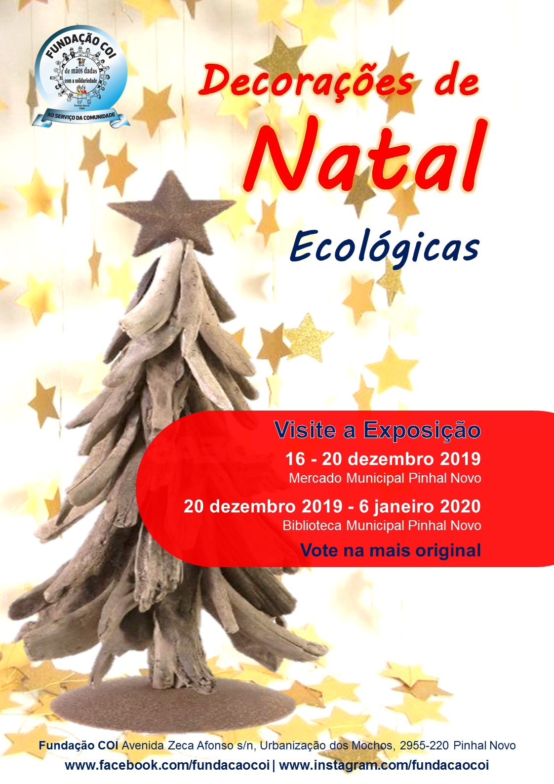 cartaz dec natal eco